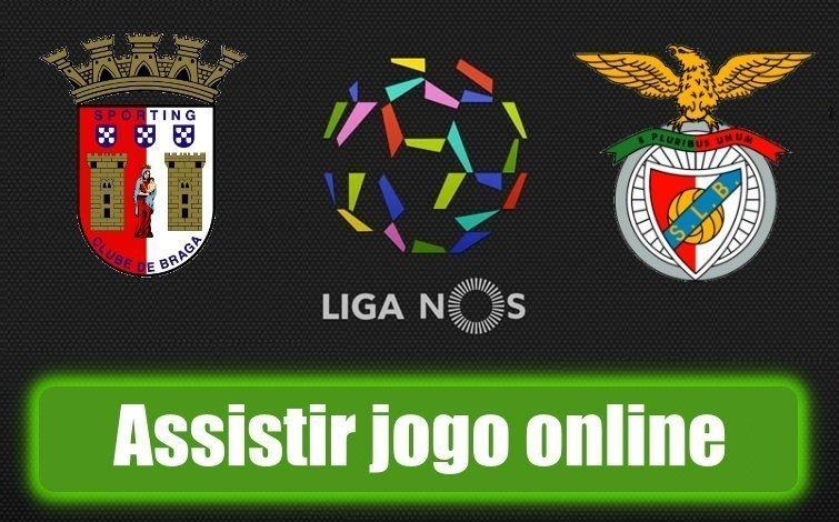 Assistir jogo Braga vs Benfica Online em HD Grátis