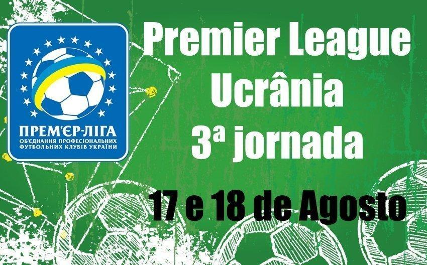 Prognósticos – 4ª Jornada – Premier League do campeonato ucraniano