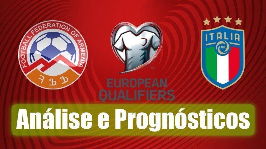 Arménia vs Itália – Euro 2020 – Análise e Prognósticos