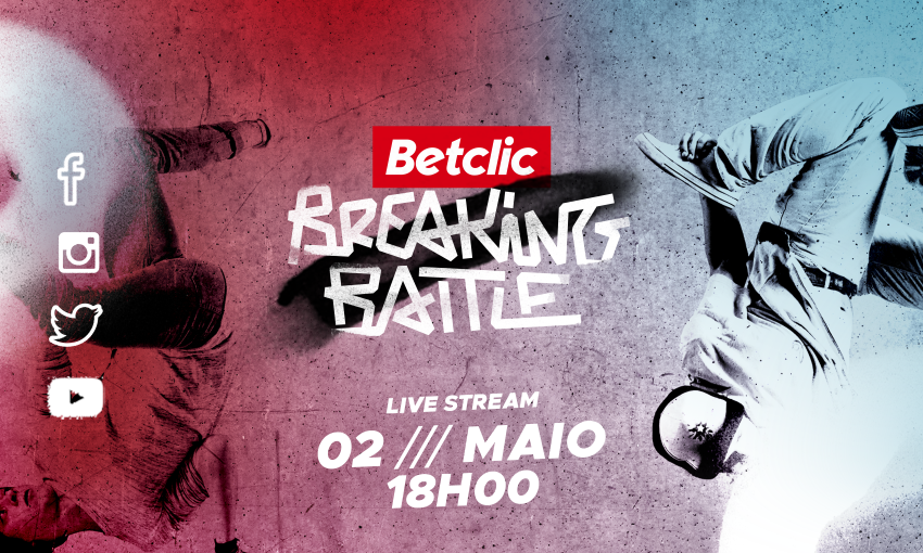 Betclic Breaking Battle: a primeira batalha de breakdance em live streaming
