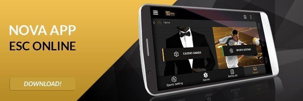 ESC Online App - Aplicação de Apostas - Como instalar o aplicativo móvel apk