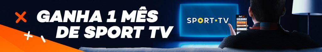 Ganha uma mensalidade de Sport Tv Grátis