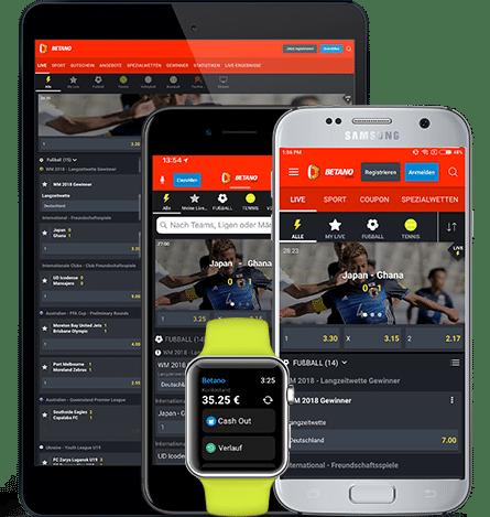 Betano app para IOS e Android com apk