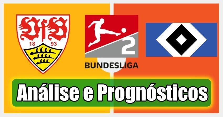 Estugarda vs Hamburgo  – Análise e Prognósticos – Bundesliga 2