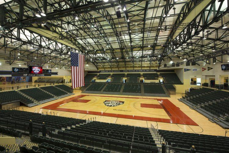 O regresso da NBA - pavilhão onde se vai disputar os jogos