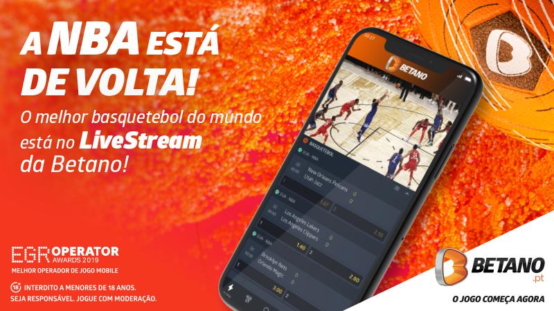 Assiste aos jogos Online da NBA no regresso à competição