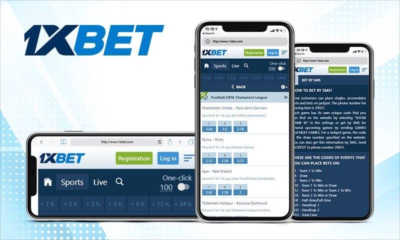 App Móvel 1xBet, pode apostar em qualquer lugar e a qualquer hora no seu smartphone