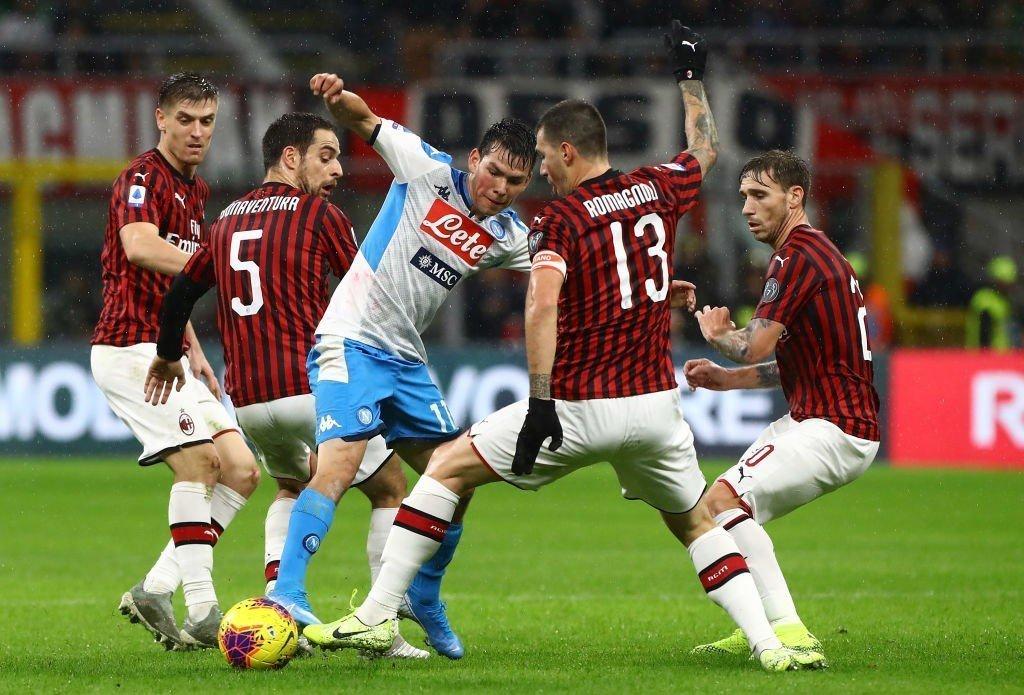 Nápoles vs AC Milan - Análise e Prognósticos - Série A - Itália
