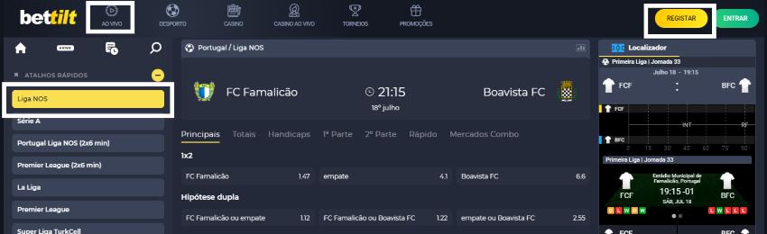 Famalicão Boavista online: assistir ao jogo, ao vivo e grátis