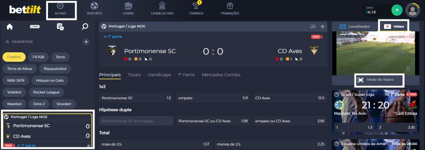 Portimonense Aves online: assistir ao jogo, ao vivo e grátis