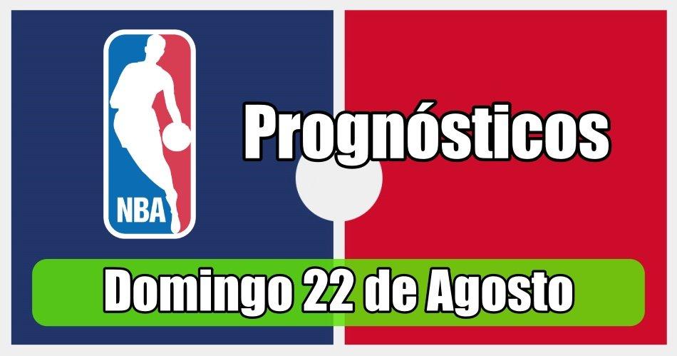 Prognósticos para Apostas NBA - Grátis - Domingo 23 de Agosto