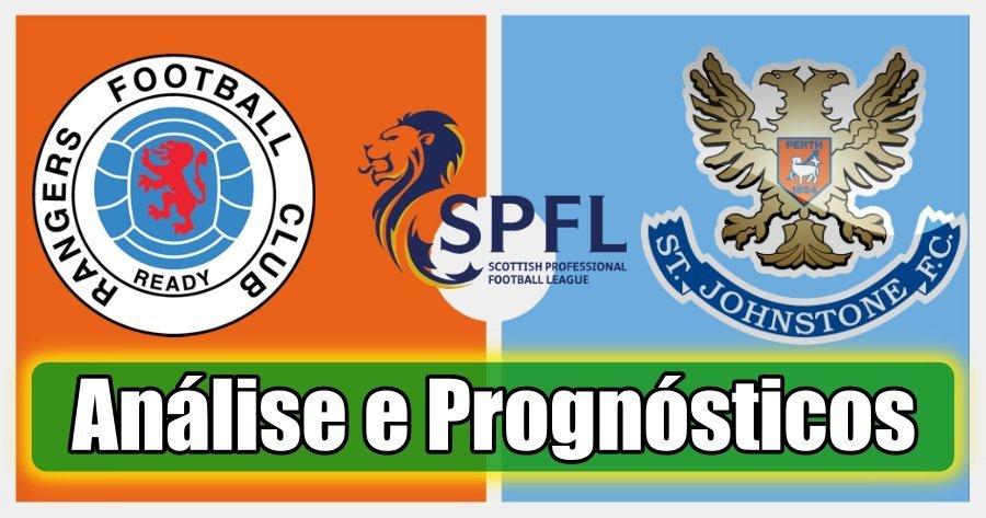 Rangers vs St Johnstone – Análise e Prognósticos – Premiership Escócia