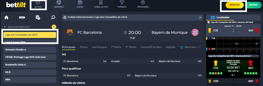 Barcelona Bayern online assistir ao jogo grátis