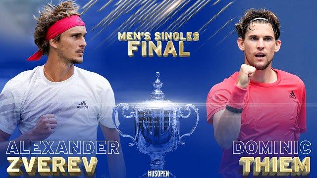 Alexander Zverev vs Dominic Thiem -  Análise e Prognósticos - Final US Open 2020