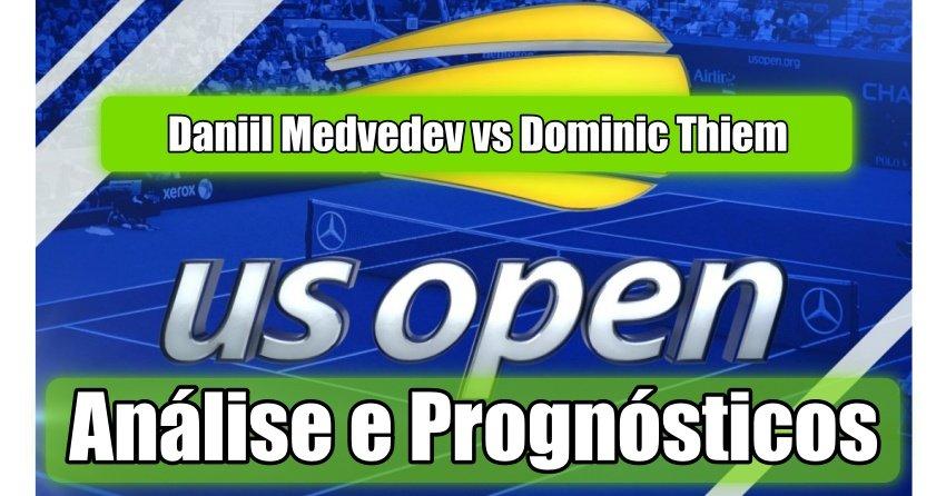 Daniil Medvedev vs Dominic Thiem -  Análise e Prognósticos - US Open 2020