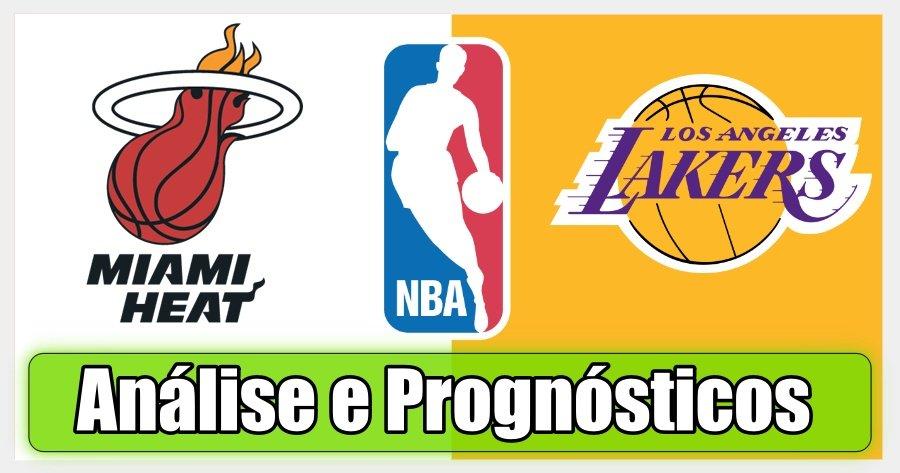 Miami Heat vs LA Lakers – Análise e Prognósticos – Finais NBA - Jogo 1