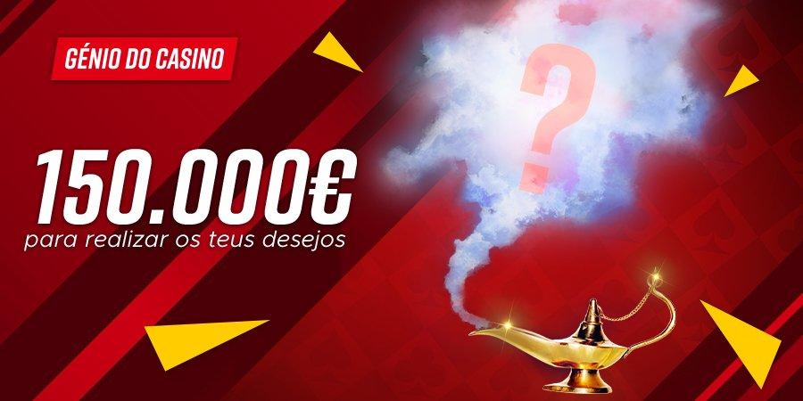 Génio do Casino – Participa nesta promoção da Betclic e ganha 150.000€ em prémios
