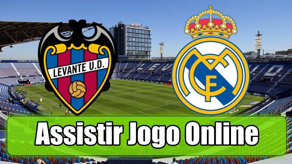 Assistir Levante Real Madrid: assiste ao jogo online e grátis