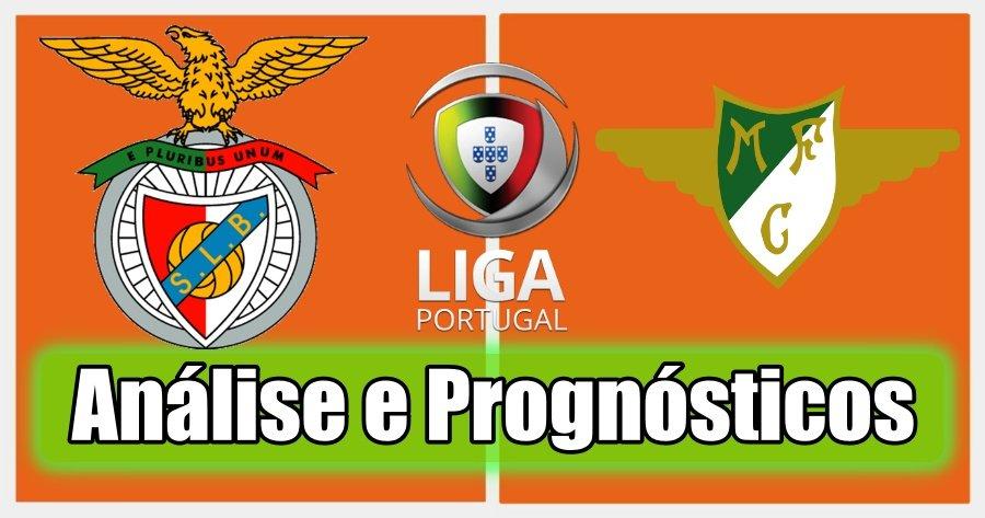 Benfica - Moreirense – Análise e Prognósticos – Liga Portuguesa
