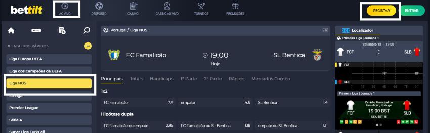 Assistir Famalicão Benfica: assiste ao jogo online e grátis