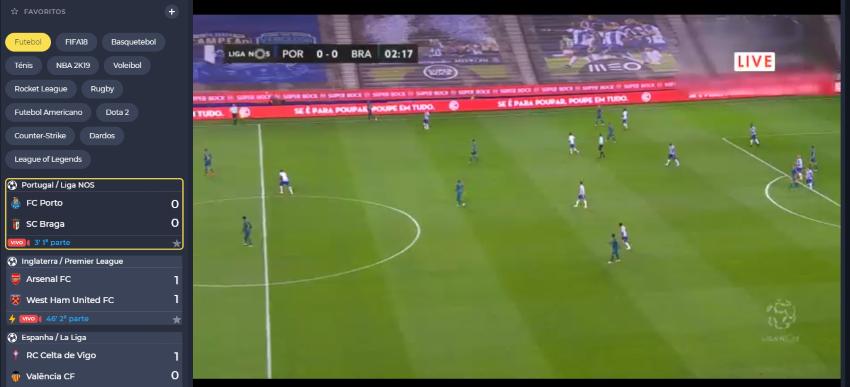 Assistir Porto Braga: assiste ao jogo online e grátis