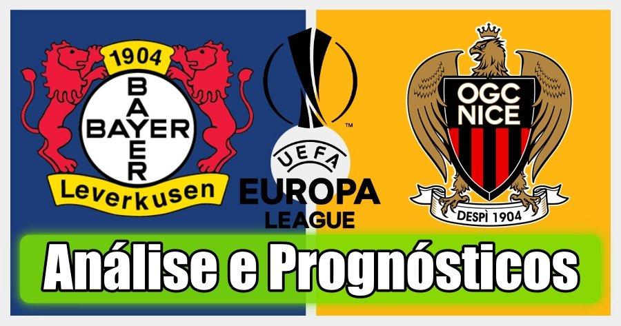 Bayer Leverkusen vs Nice – Análise e Prognósticos – Liga Europa