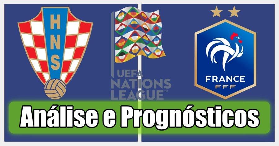 Croácia vs França – Análise e Prognósticos – Liga das Nações