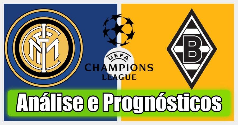 Inter Milão vs Borussia Monchengladbach – Análise e Prognósticos – Liga dos Campeões
