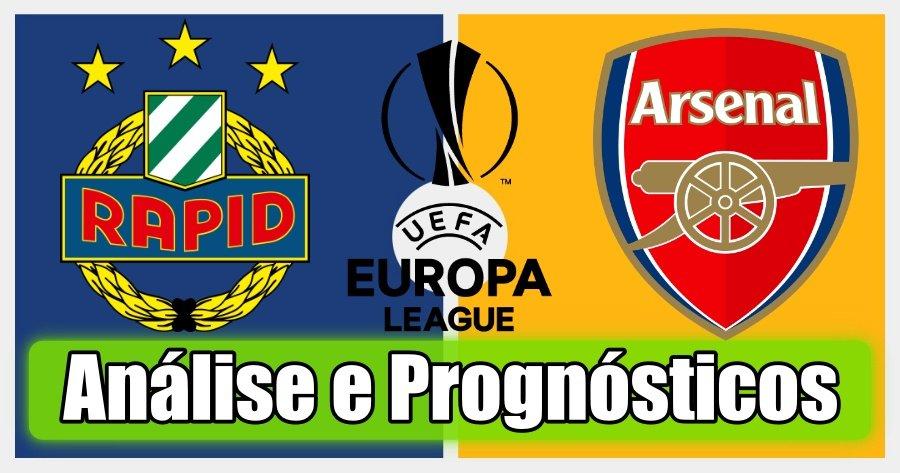 Rapid Vienna vs Arsenal – Análise e Prognósticos – Liga Europa