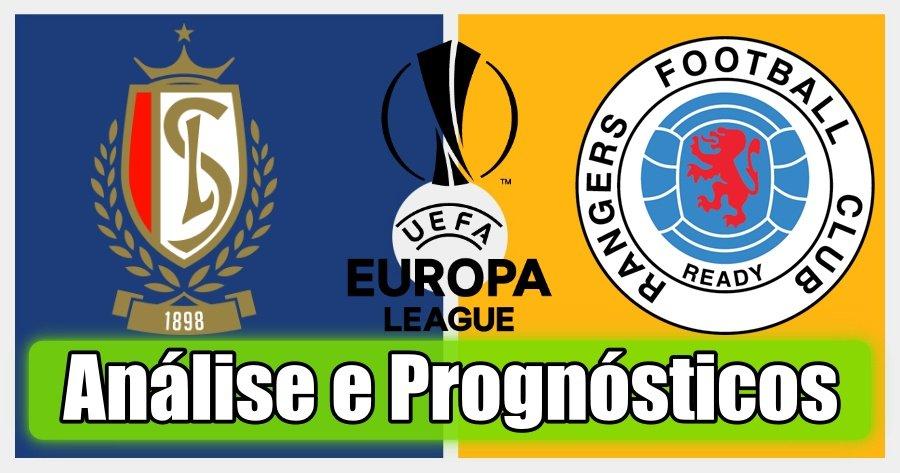 Standard Liege vs Rangers – Análise e Prognósticos – Liga Europa