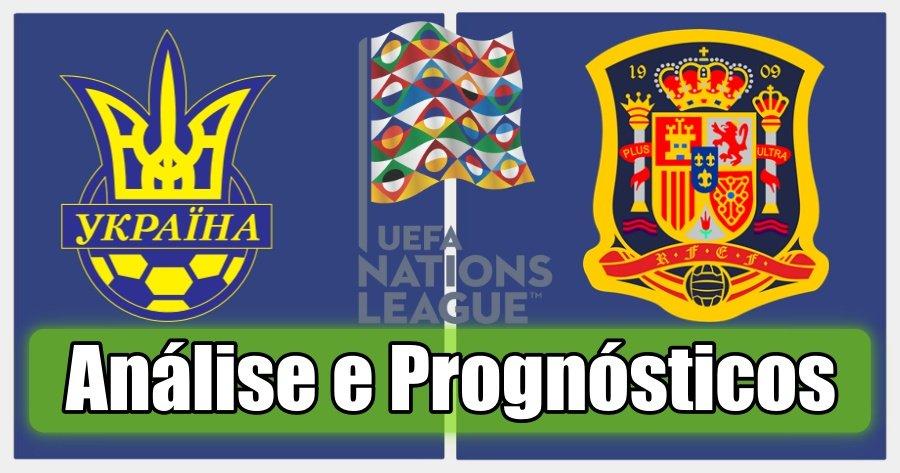 Ucrânia vs Espanha – Análise e Prognósticos – Liga das Nações