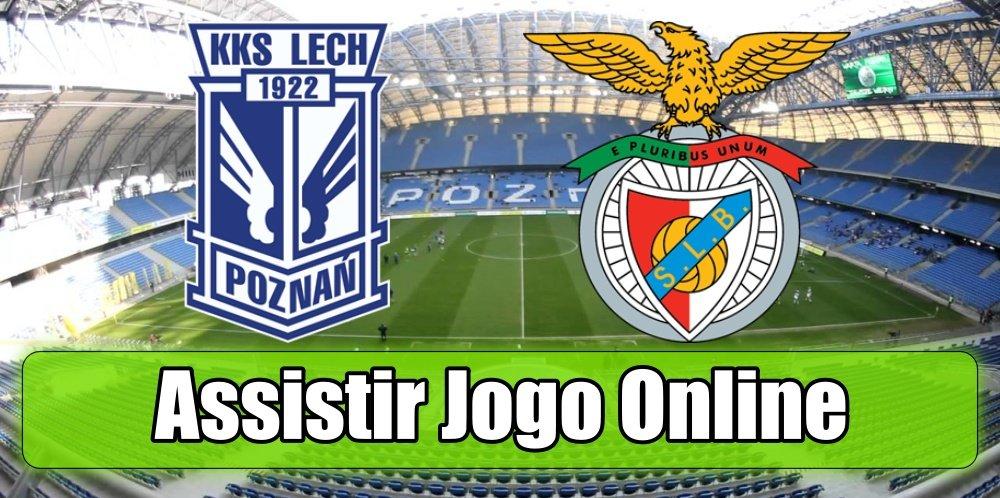 Assistir Lech Benfica: assiste ao jogo online e grátis