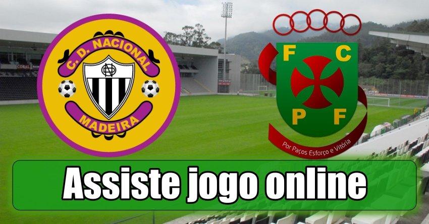 Assistir Nacional Paços Ferreira assiste ao jogo online e grátis