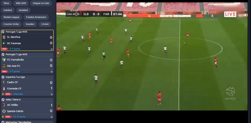 Como assistir ao Assistir Benfica Farense online, ao vivo e grátis