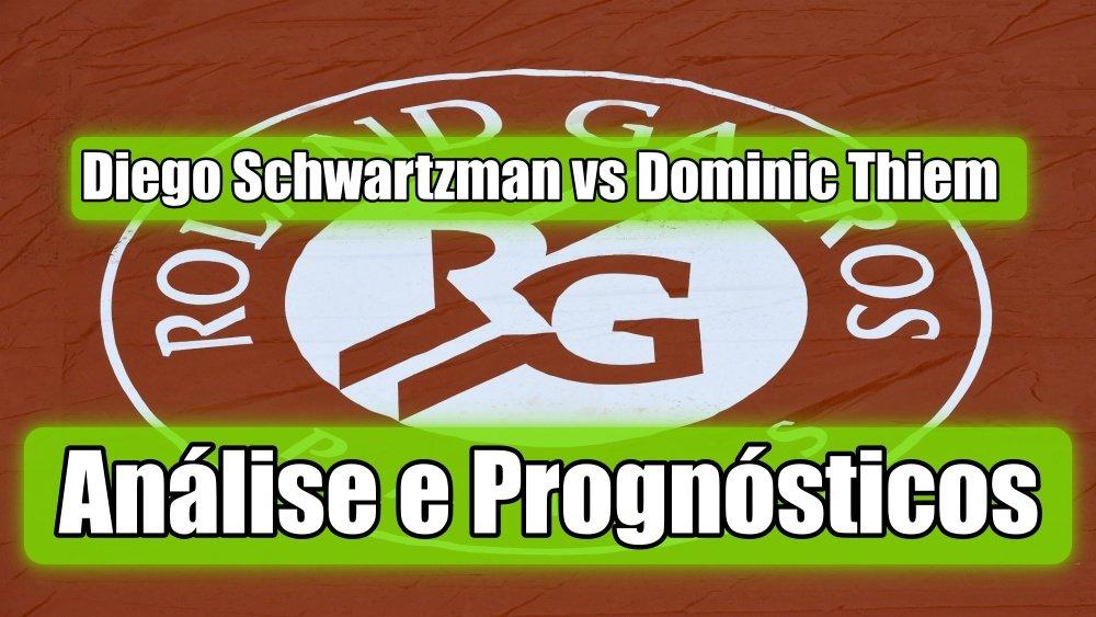 Diego Schwartzman vs Dominic Thiem -  Análise e Prognósticos - Open de França - Roland Garros