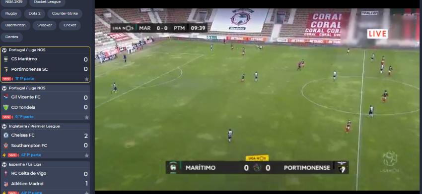 Como assistir ao Assistir Marítimo Portimonense online, ao vivo e grátis