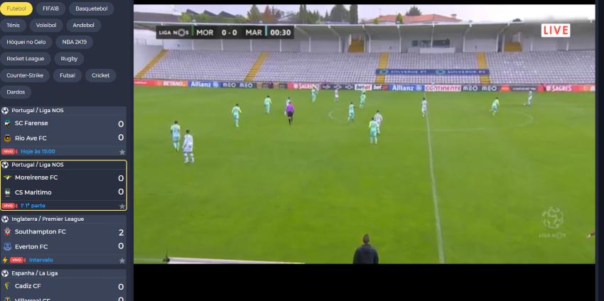 Como assistir ao Moreirense Marítimo online, ao vivo e grátis