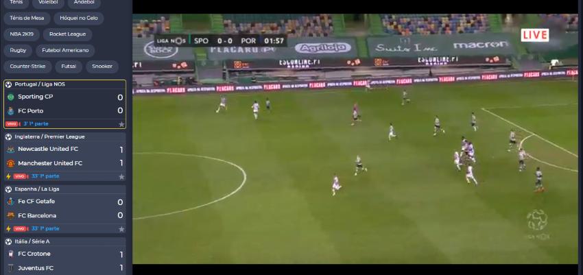 Assistir Sporting Porto - assiste ao jogo online e grátis
