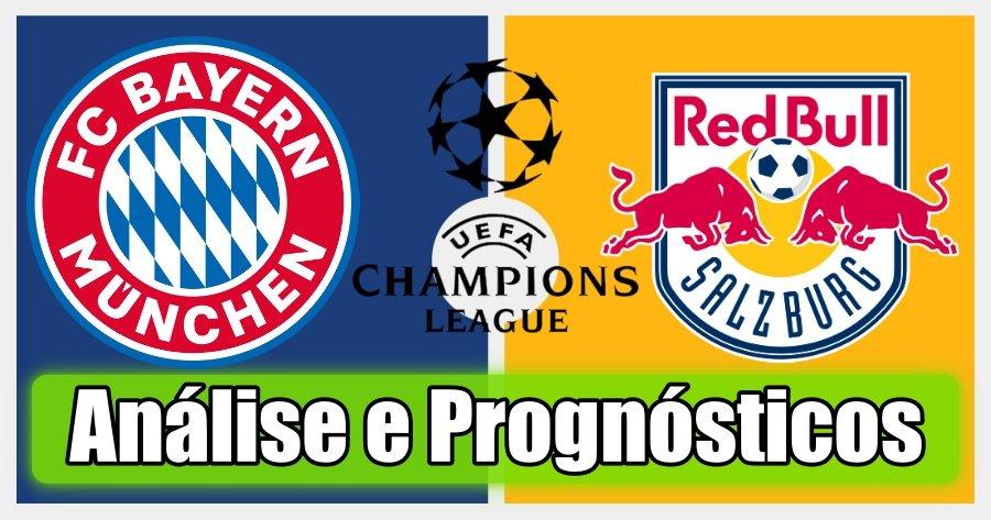 Bayern Munique vs Salzburg – Análise e Prognósticos – Liga dos Campeões