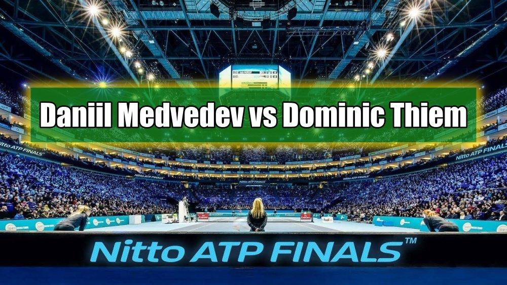 Daniil Medvedev vs Dominic Thiem - Análise e Prognósticos - Finais do ATP - Londres
