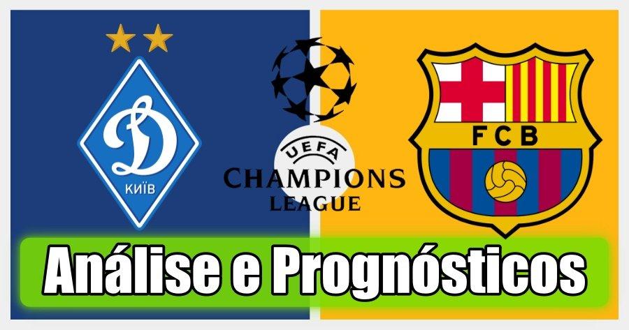 Dynamo Kiev vs Barcelona – Análise e Prognósticos – Liga dos Campeões