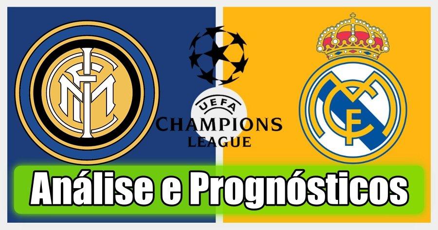 Inter vs Real Madrid – Análise e Prognósticos – Liga dos Campeões