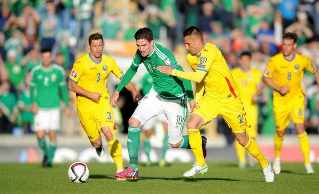 Confrontos anteriores entre Irlanda Norte vs Roménia