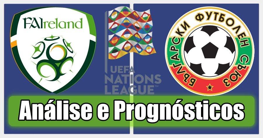 Irlanda vs Bulgária – Análise e Prognósticos – Liga das Nações