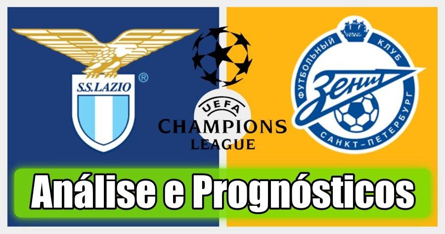 Lazio vs Zenit – Análise e Prognósticos – Liga dos Campeões