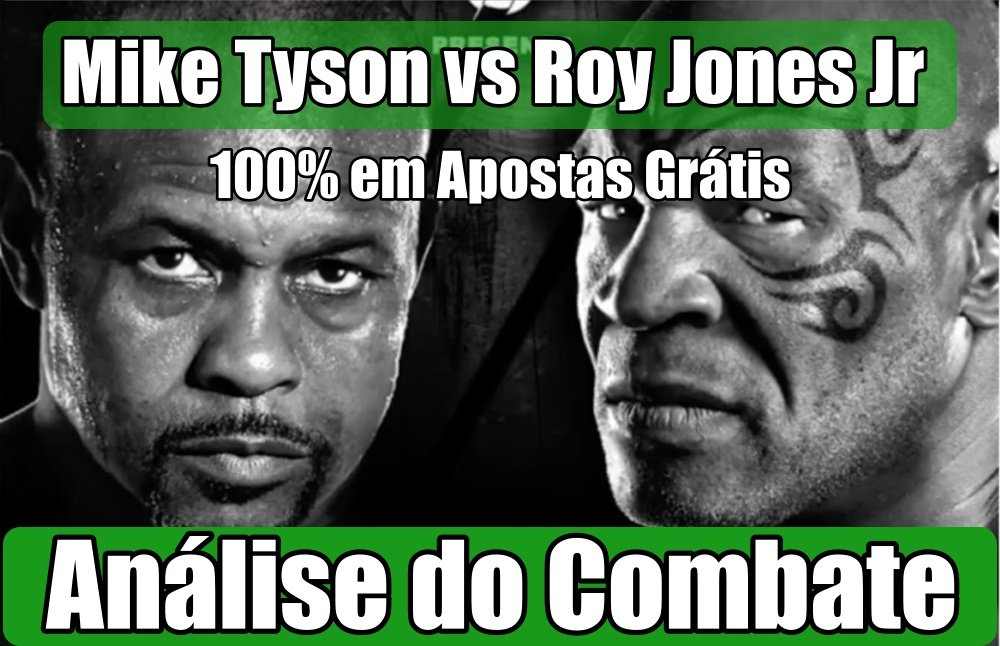 Mike Tyson vs Roy Jones Jr - Análise e Prognósticos para o Combate de Boxe