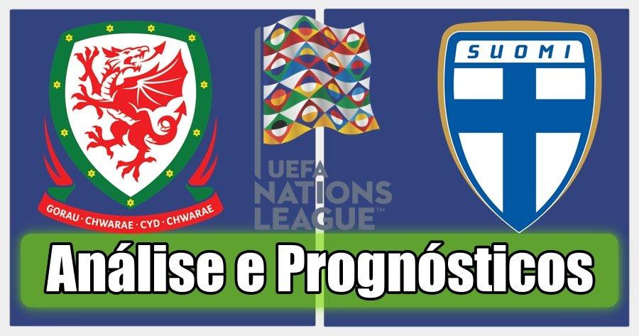 País Gales vs Finlândia – Análise e Prognósticos – Liga das Nações