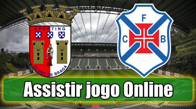 Assistir Braga Belenenses assiste ao jogo online e grátis