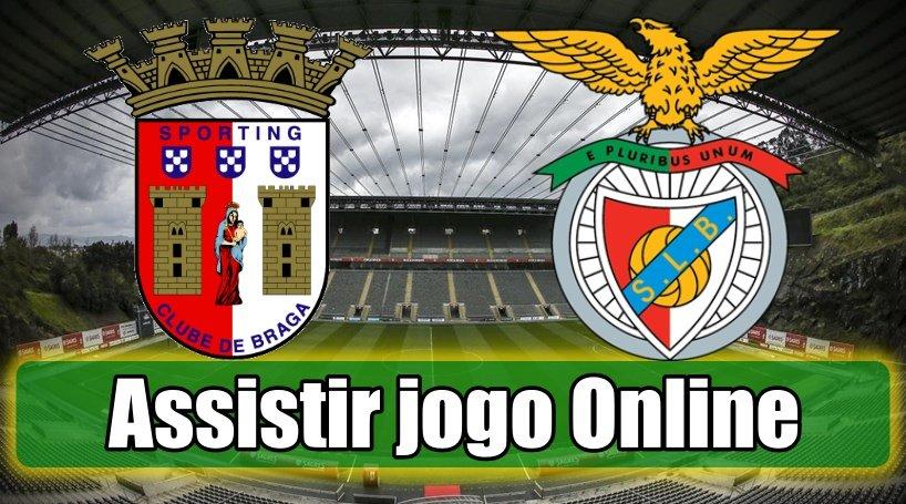 Assistir Braga Benfica assiste ao jogo online e grátis