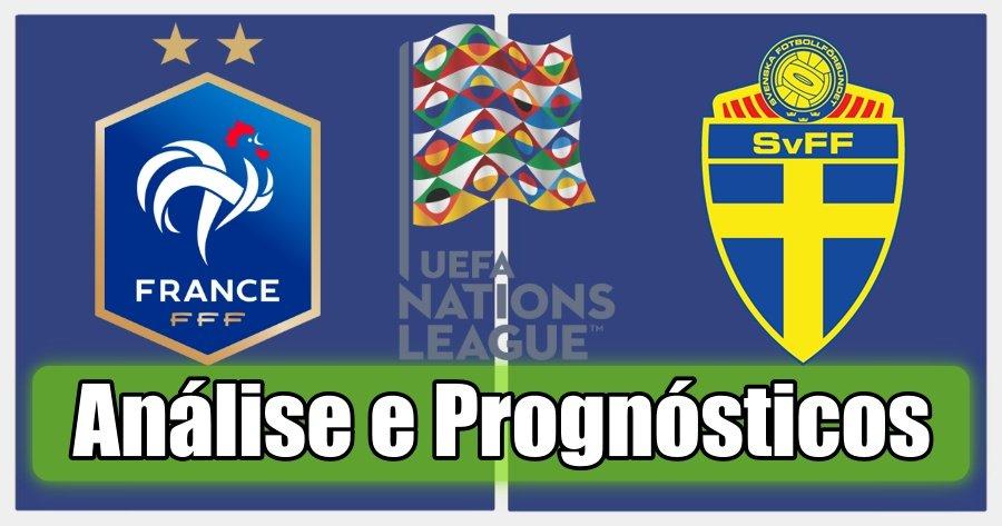 França vs Suécia – Análise e Prognósticos – Liga das Nações